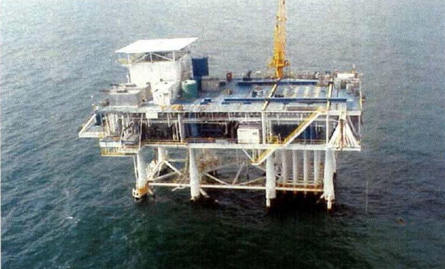 Taylor Energy Platform #23051